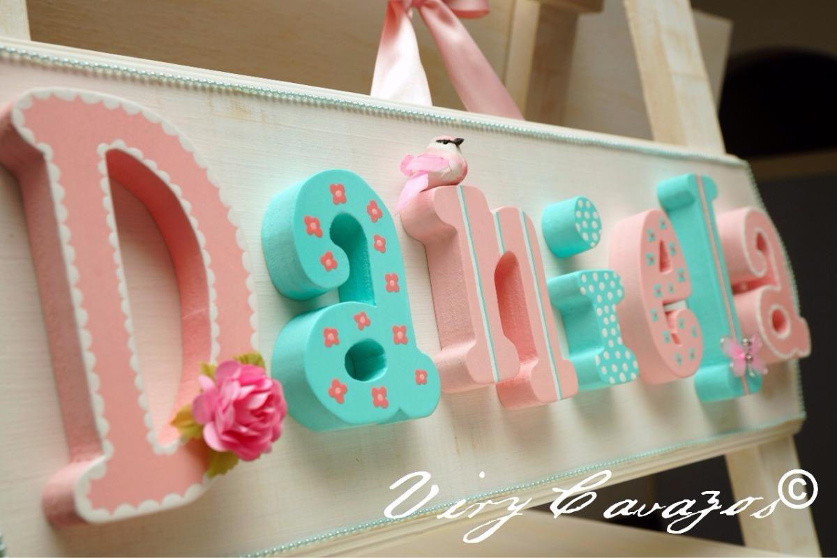 Letras de madera baby shower despedida bebe cumplea os en mercado libre - Letras bebe decoracion ...
