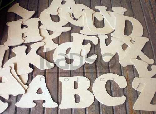 Letras de madera para decorar numeros de madera para - Plantillas de letras para pintar en madera ...
