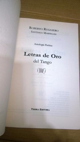 letras de oro del tango-roberto ruggiero-terra editora-2001