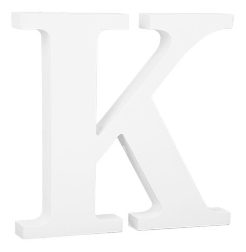 letras decorativa madera blanca 11 cm bar fiestas oferta!