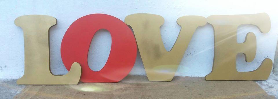 letras decorativas cm