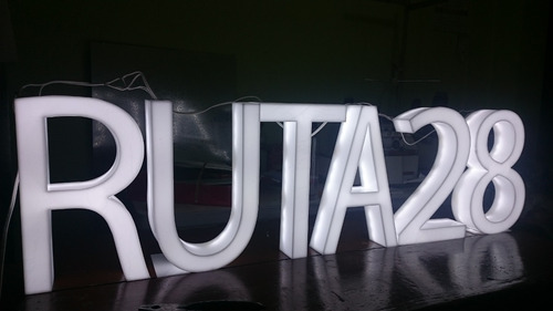 letras en 3d rotulos  luminosos