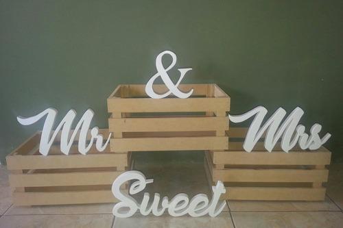 letras en mdf para bodas aniversario y toda ocacion