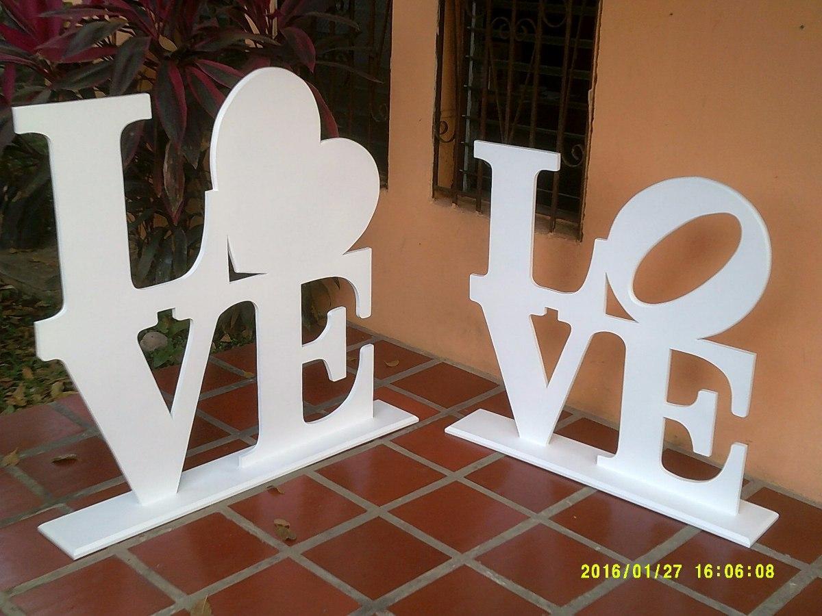 Letras gigantes mdf para decoraci n bodas bs - Letras para adornar ...