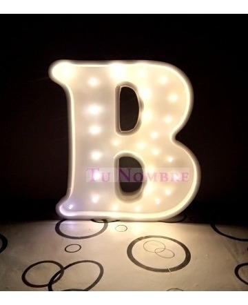 letras huecas 16 cm+ letra corporea regalo polyfan tu nombre