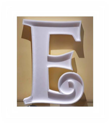 letras huecas 70 cm polyfan grandes formas tu nombre importa