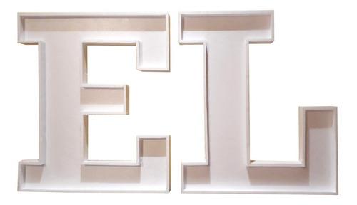 letras huecas corporeas 70 cm polyfan candy bar eventos