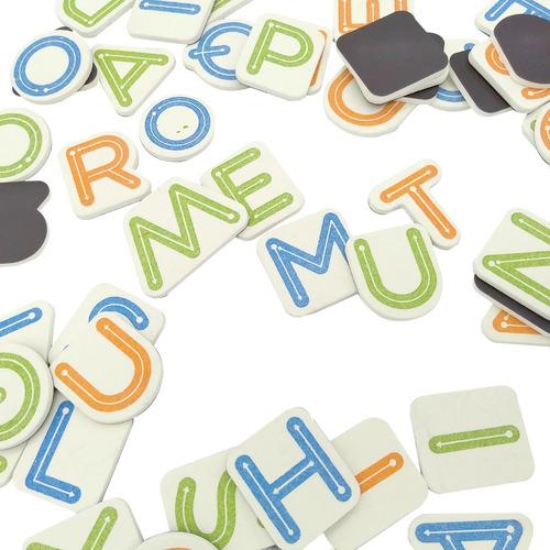 letras imantadas goma juego didactico infantiles educativos