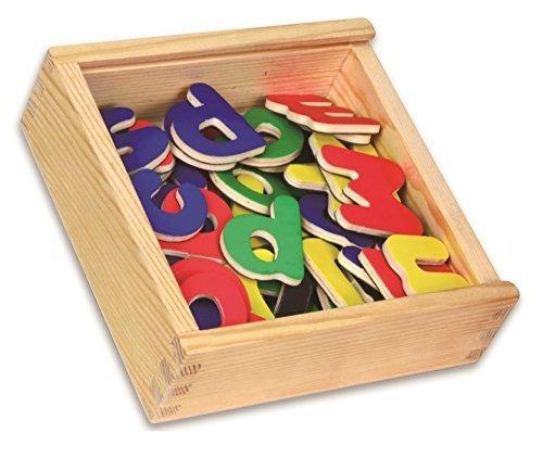 letras magnéticas 52pcs 26 piezas minúsculas y 26 piezas may