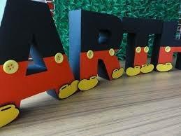 letras mickey mouse