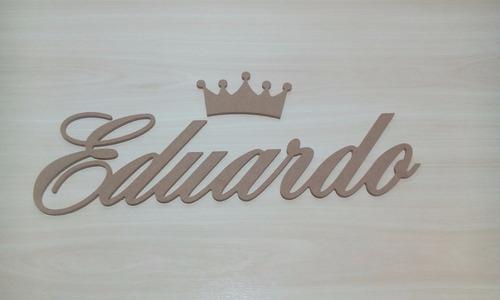 letras nome em madeira mdf - 6mm - festa - decoração