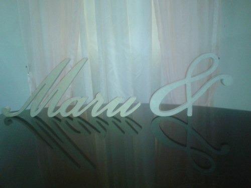 letras, numeros, nombres candy bar 20cm altura 18mm espesor