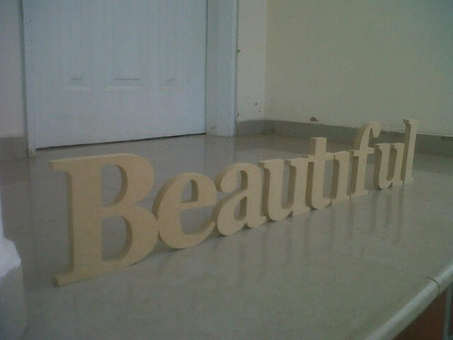letras, numeros, nombres candy bar mdf crudo 15cm altura