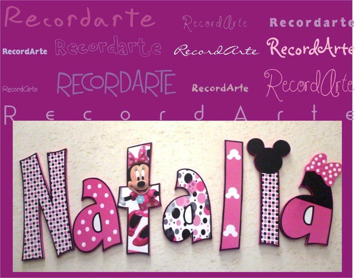 Letras para decorar el cuarto de los pekes y no tan pekes - Letras para decorar habitacion infantil ...