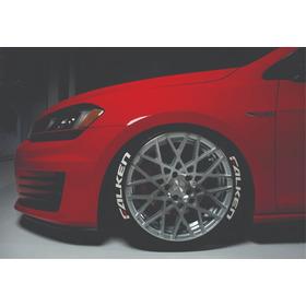 Letras Para Neumáticos (8 Textos Calidad Premium)