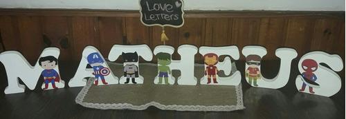 letras persoanalizadas para cumples o decoracion