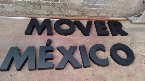 letras y letreros gigantes 3d en lamina