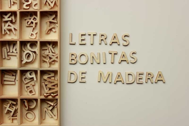 Letras y numeros en mdf 6mm 30 00 en mercado libre - Casa letras madera ...