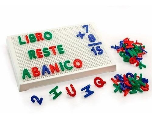 letras y numeros tablero pizarra lectoescritura ruibal cadia