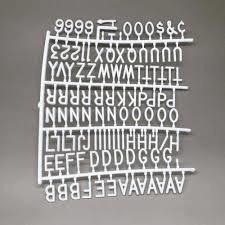 letreiro recado letter board lousa manual mural aviso 170pçs