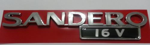 letreiro sandero 16v 09 10 11 12- padrão original
