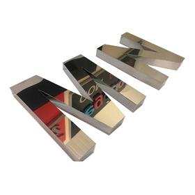 Letreiros E Logos  Letras Caixa Inox 3d Brilhante 30 Cm