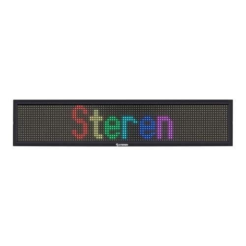 letrero led programable de 7 colores