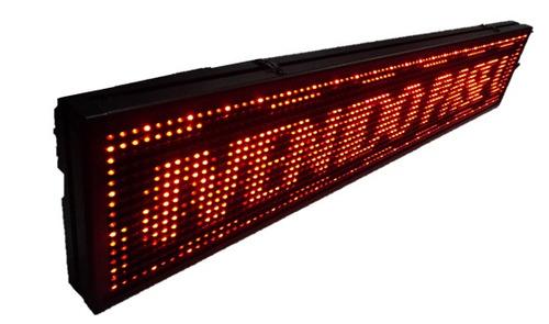 letrero led programable dif colores anuncios publicidad 1 mt