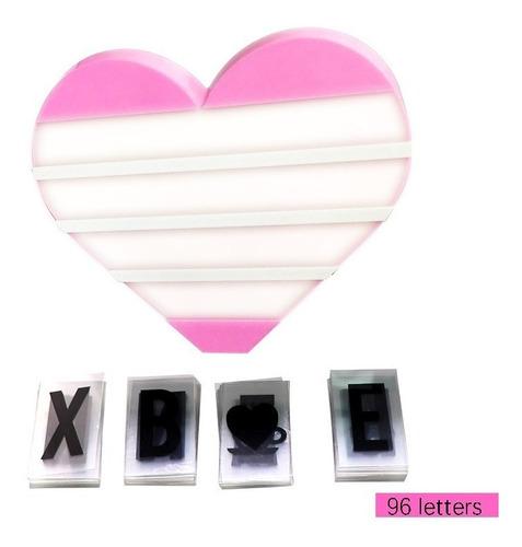 letrero luminoso corazón cartel amor regalo envío gratis