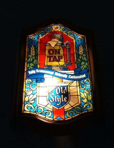 letrero luminoso vintage cerveza heilemans  envío gratis