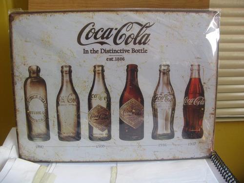 letrero metalicos vintage bar cerveza 30x40cm