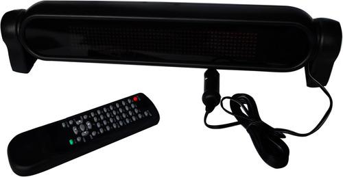 letrero programable para taxi luminoso 470 mensajes vecctron