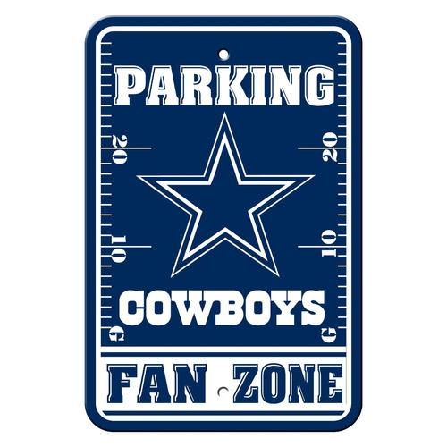 letreros de estacionamiento de plástico nfl dallas cowboys