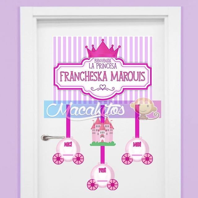 Letreros decoraci n carteles de nacimiento puerta cl nica - Carteles para puertas habitaciones ...