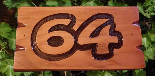letreros en madera
