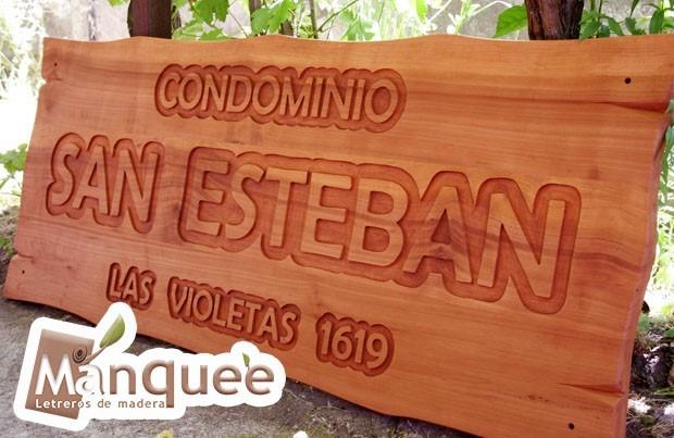 Letreros en madera nativa en mercado libre - Letreros en madera ...