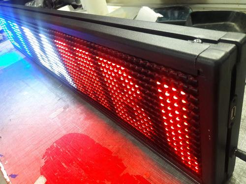letreros led electronicos