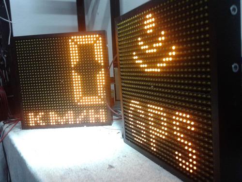 letreros led señaletica autopistas fabricamos todo industria