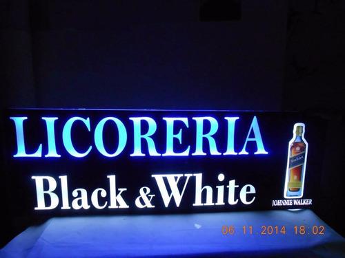 letreros luminosos, retroiluminado, backlight, mdf, acrílico