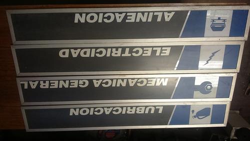 letreros para taller mecanico