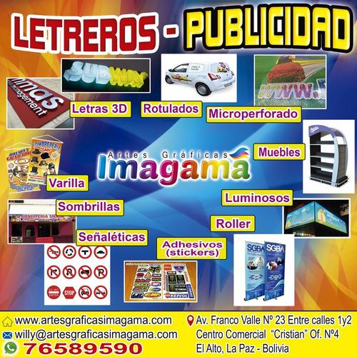 letreros - publicidad - gigantografias