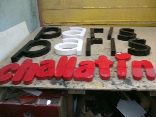 letreros y letras acrilico madera y marmol