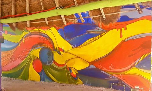 letrista carteles pintor muralista