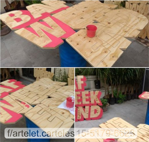 letrista  letras pintadas carteles lonas impresas plotteados