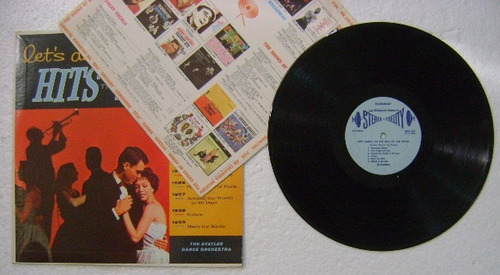 let´s dance to hits of the fifties 1 disco lp vinilo