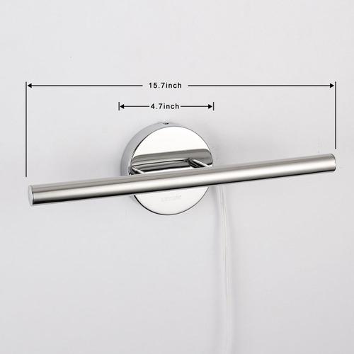 letsun 5w blanco frío led de la luz del tocador de baño de l