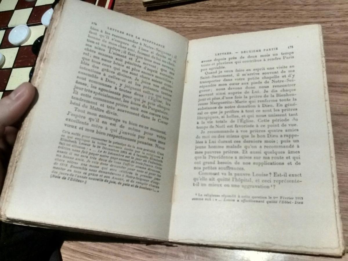 Lettres Sur La Souffrance Leseur 1927 30000