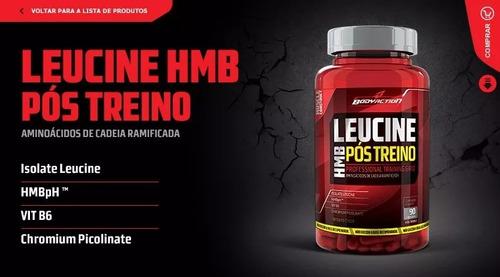 leucina hmb 90caps - body action - super oferta - rj