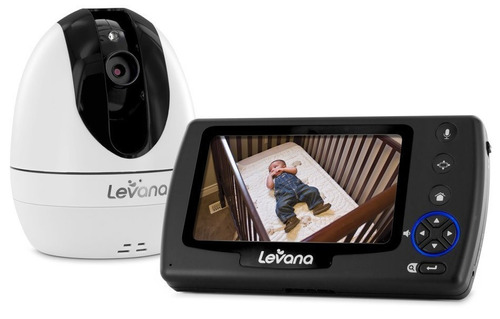 levana ovia  video monitor bebe con sd recording