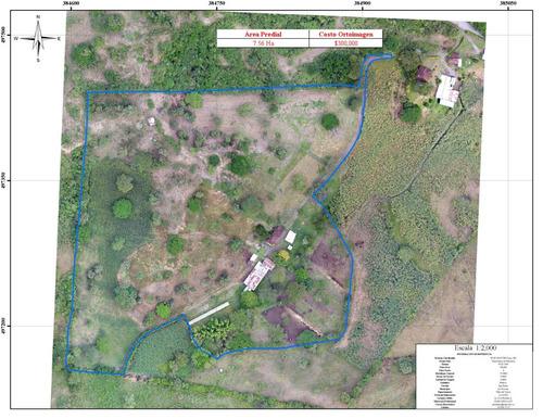 levantamiento cartográfico detallado- mapas - drone